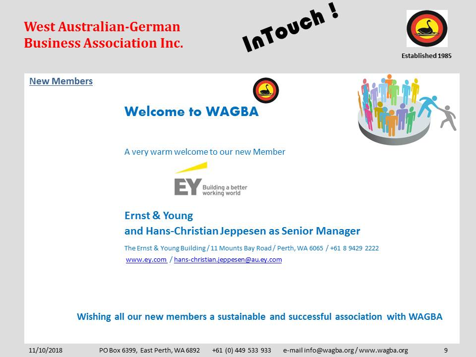 5 New Member Ernst and Young